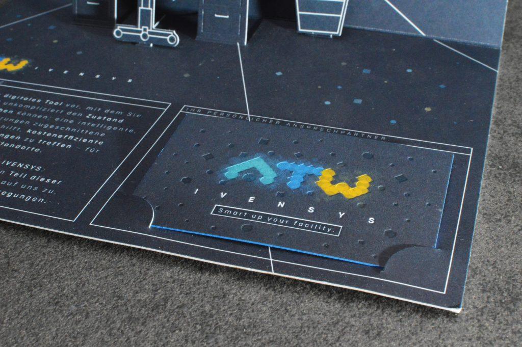 Popupkarte 3d Karte Druckprojekt Veredelung