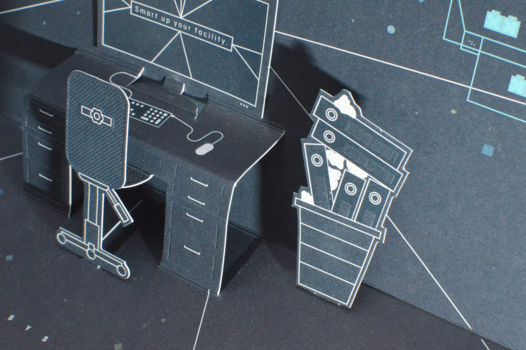 3D Pop up karte heißfolienprägung elemente