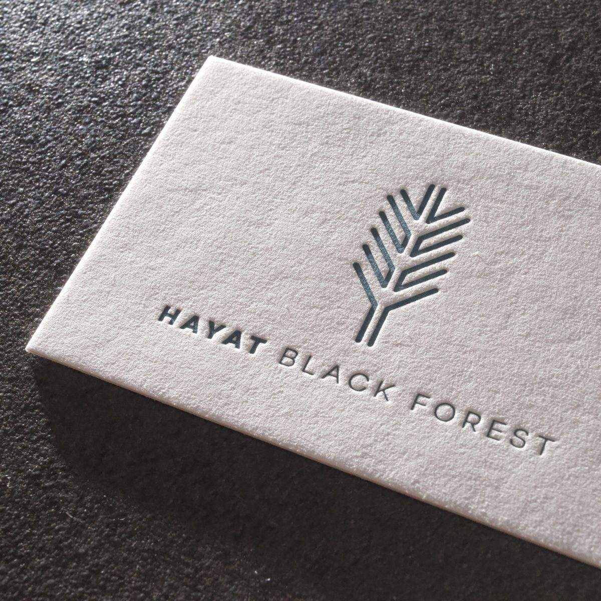 Visitenkarten Im Letterpress Verfahren Druckerei Butz Bürker